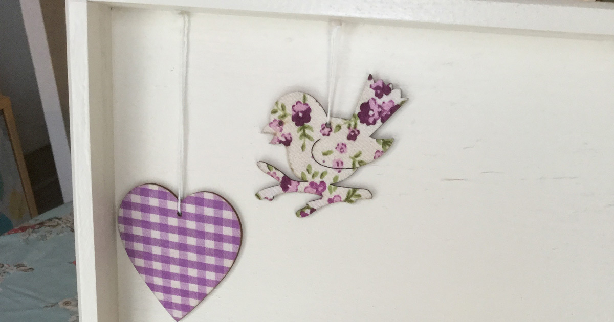 decoration for the wooden jewellery box