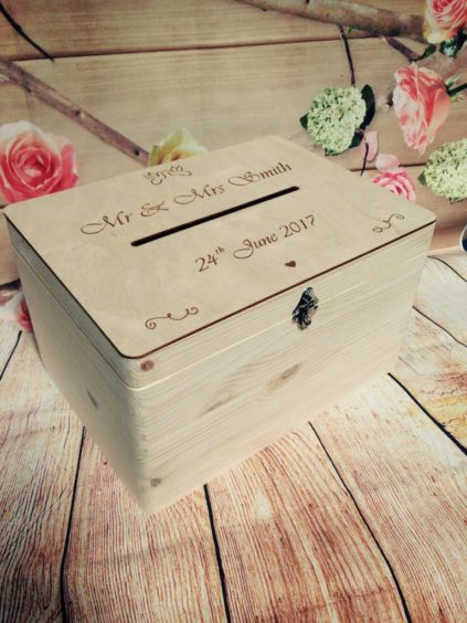 Lockable Wedding Guests Wish Wooden Post Box With Slot Cards Drop In Memory Wishing Well Bride And Groom Personalised Present