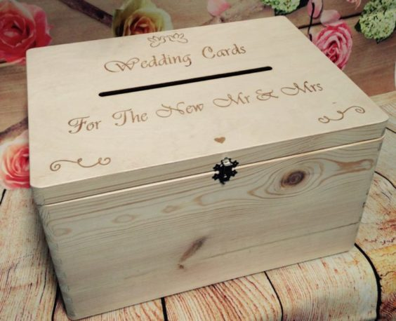 Wedding Guests Wish Wooden Post Box With Slot Wedding Cards Drop In Memory Box Wishing Well Bride And Groom Personalised Present